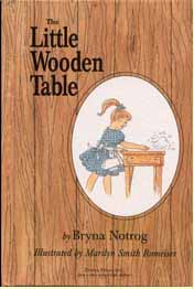 The Little Wooden Table - Book Cover